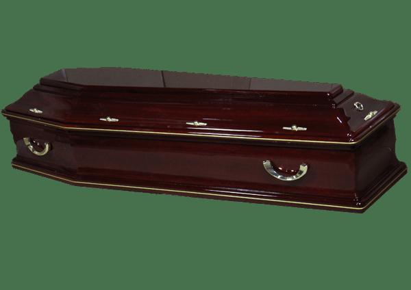 Cercueil AMÉRICAIN ACAJOU